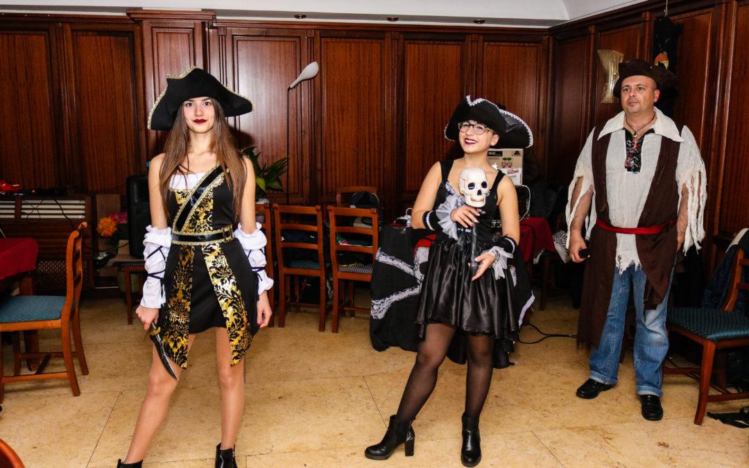 Primo aprile Cena dei Pirati al Clipper