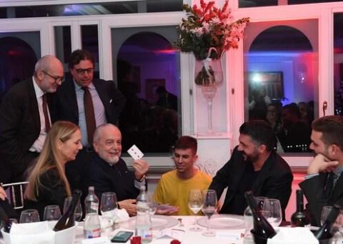 siamo stati presenti alla festa del Napoli calcio con Raffaello Corti